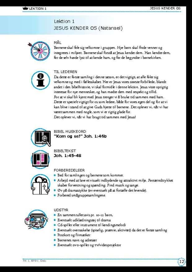 Sæson 1 - lektion 1-7